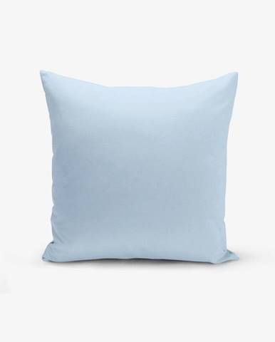Modrá obliečka na vankúš Minimalist Cushion Covers Düz, 45 × 45 cm