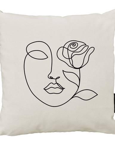 Vankúš Butter Kings z bavlny Rose, 45x45cm