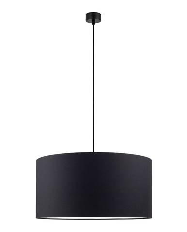 Čierne závesné svietidlo Sotto Luce Mika, ⌀ 50 cm