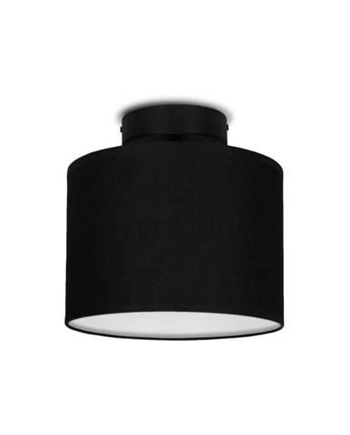 Čierne stropné svietidlo Sotto Luce MIKA Elementary XS CP, ⌀ 20 cm