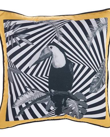 Obliečka na vankúš Mike&Co.NEWYORK Exotic Toucan, 43 × 43 cm