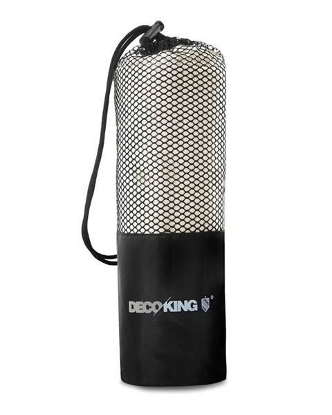 DecoKing Svetlobéžová rýchloschnúca osuška DecoKing EKEA, 40 × 80 cm
