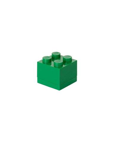 Zelený úložný box LEGO® Mini Box Green