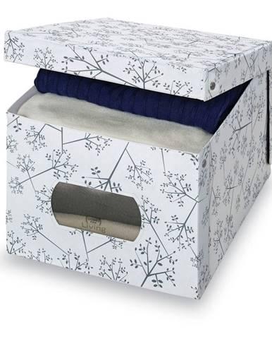 Úložný box Domopak Bon Ton, výška31 cm