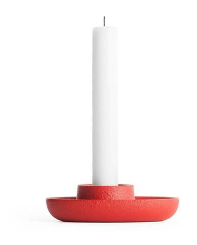 Červený svietnik EMKO Aye Aye One Candle