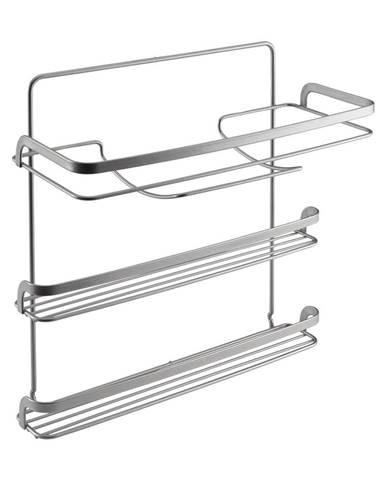 Trojposchodový držiak na kuchynské utierky Metaltex, dĺžka 33 cm