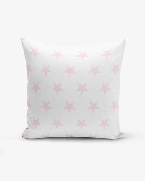 Minimalist Cushion Covers Obliečka na vankúš s prímesou bavlny Minimalist Cushion Covers Powder Colour Star Modern, 45×45 cm