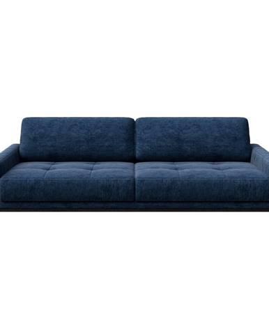Modrá pohovka MESONICA Musso Tufted, 210 cm