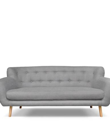 Svetlosivá pohovka Cosmopolitan design London, 192 cm