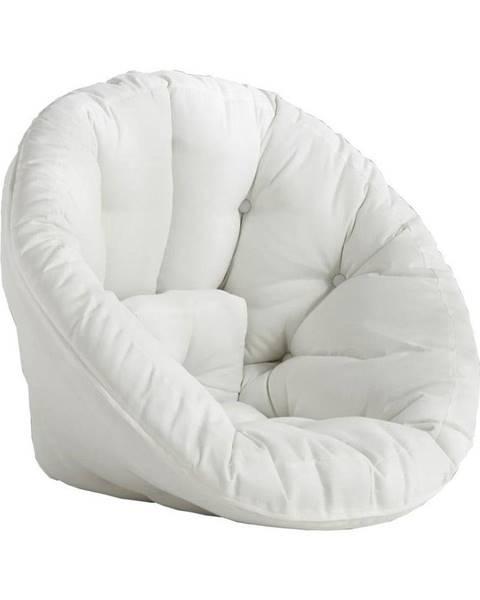 Karup Design Biele rozkladacie kresielko vhodné do exteriéru Karup Design Design OUT™ Nido White