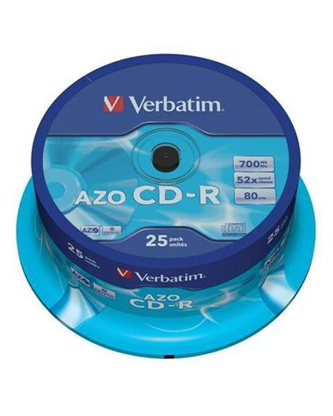 Verbatim Disk Verbatim Crystal CD-R DLP 700MB/80min. 48x, 25-cake