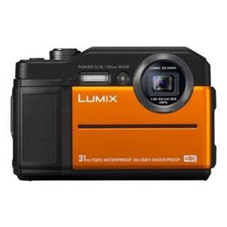 Digitálny fotoaparát Panasonic Lumix DC-FT7 oranžov