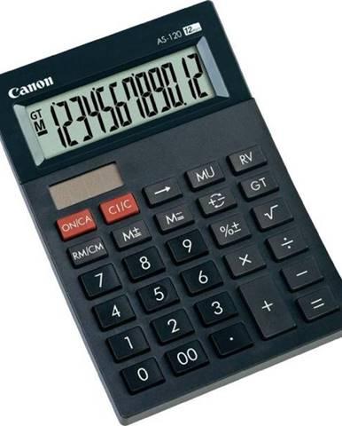 Kalkulačka Canon AS-120 čierna
