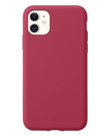 Kryt na mobil CellularLine Sensation na Apple iPhone 11 červený
