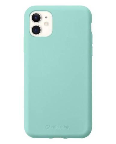 Kryt na mobil CellularLine Sensation na Apple iPhone 11 zelený