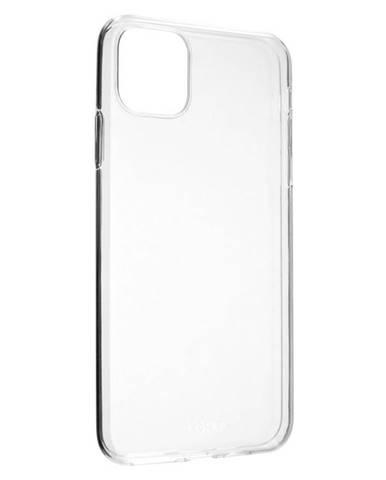Kryt na mobil Fixed Skin na Apple iPhone 11 Pro Max priehľadný