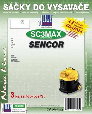 Sáčky pre vysávače Jolly MAX SC 3