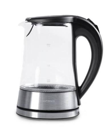 Rýchlovarná kanvica Orava VK-4017 B čierna/sklo