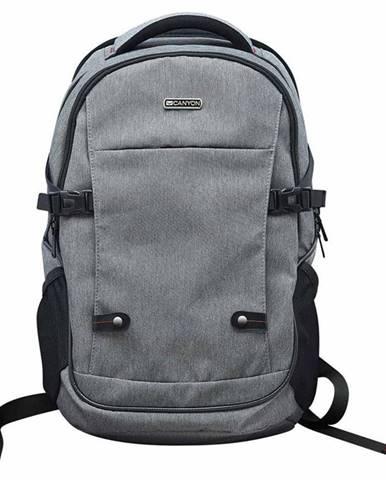 """Batoh na notebook  Canyon Spacious pro 15.6"""" sivý"""