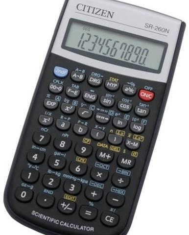 Kalkulačka Citizen SR-260N čierna