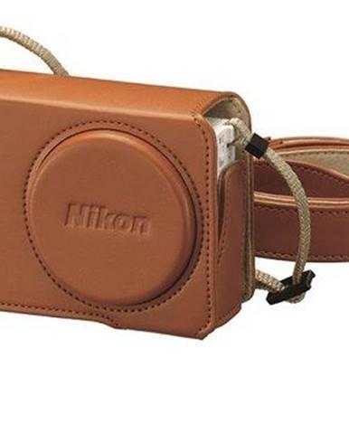 Púzdro na foto/video Nikon CS-CP4-7 kožené pro Coolpix P340