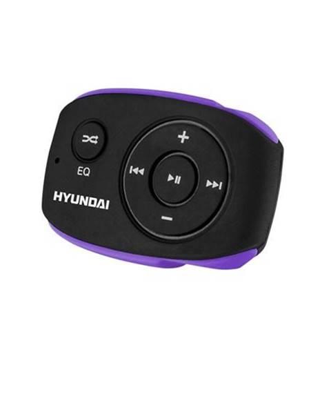 Hyundai MP3 prehrávač Hyundai MP 312 GB8 BP čierny/fialov