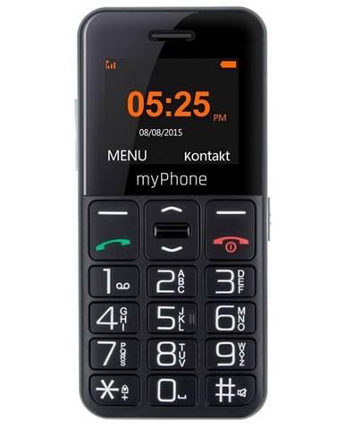 Mobilný telefón myPhone Halo Easy čierny