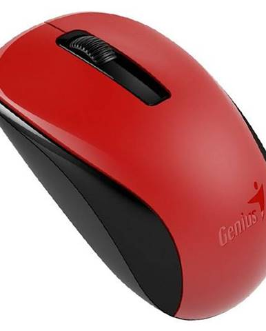 Myš  Genius NX-7005 červená / BlueTrack / 3 tlačítka / 1200dpi