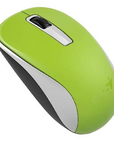 Myš  Genius NX-7005 zelená / BlueTrack / 3 tlačítka / 1200dpi