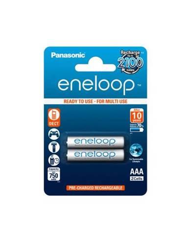 Batéria nabíjacie Panasonic Eneloop AAA, HR03, 750mAh, Ni-MH,