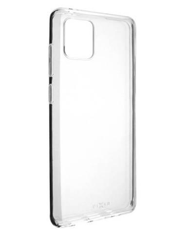 Kryt na mobil Fixed na Samsung Galaxy Note10 Lite priehľadný