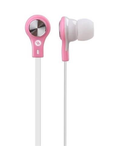 Slúchadlá Gogen EC 21P biele/ružové