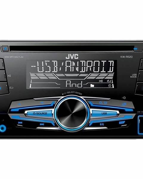 JVC Autorádio JVC KW R520 čierne