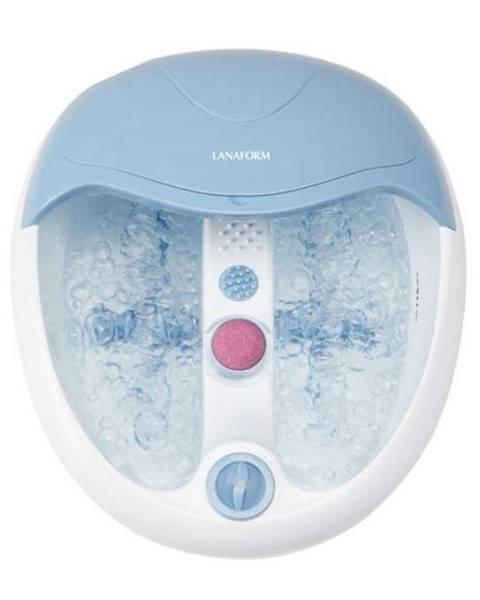 Lanaform Masážny prístroj Lanaform LA110412 BubbleFootcare biely/modr