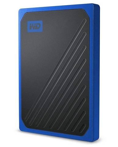 SSD externý Western Digital My Passport Go 500GB modrý