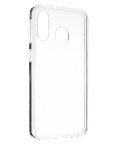 Kryt na mobil Fixed Skin na Samsung Galaxy A40 priehľadný