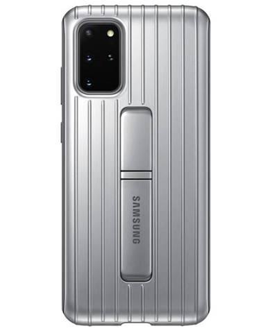 Kryt na mobil Samsung Standing Cover na Galaxy S20+ strieborný