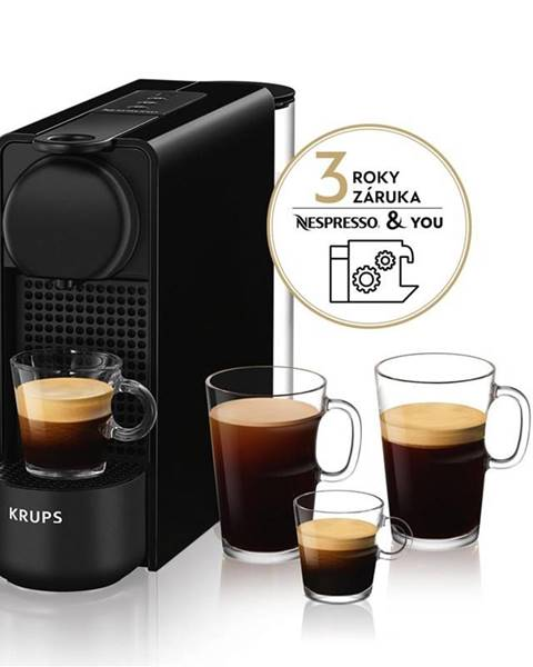 Krups Espresso Krups Nespresso Essenza Plus XN510810 čierne