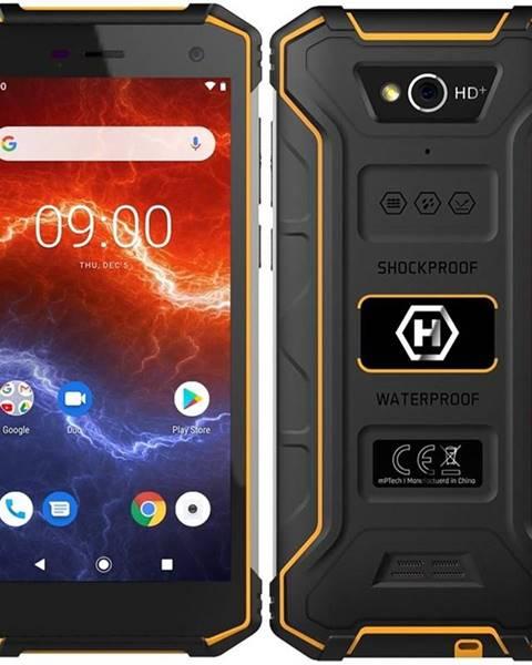 myPhone Mobilný telefón myPhone Hammer Energy 2 čierny/oranžový