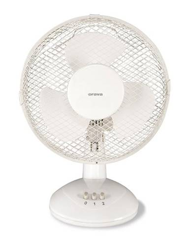 Ventilátor stolový Orava SF-10 biely