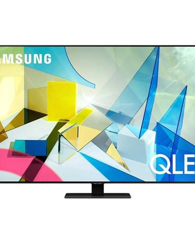 Televízor Samsung Qe85q80ta strieborn