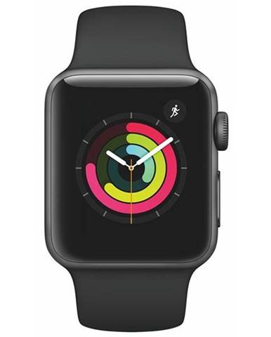 Inteligentné hodinky Apple Watch Series 3 GPS 38mm púzdro z
