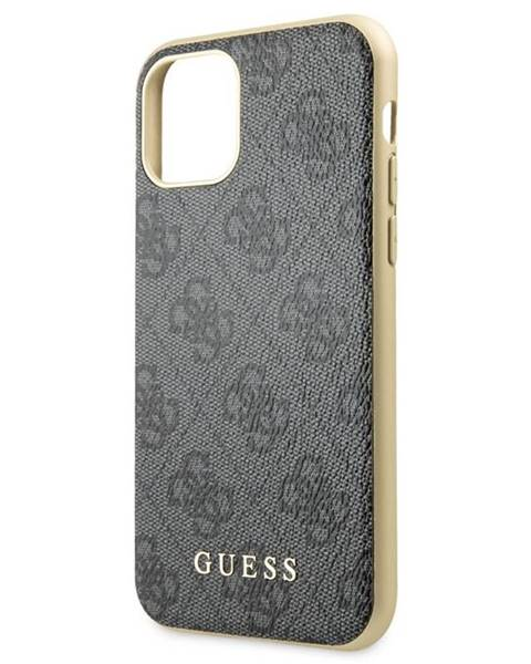 Guess Kryt na mobil Guess 4G na Apple iPhone 11 Pro sivý