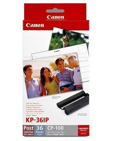 Fotopapier Canon Kp36ip,10x15 cm, 36 listů pro Selphy biely