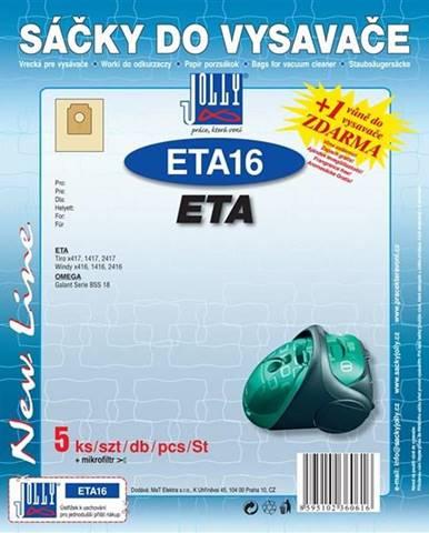 Sáčky pre vysávače Jolly ETA 16