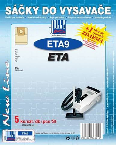 Sáčky pre vysávače Jolly ETA 9