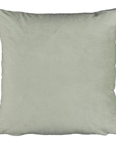 Vankúš zamatová látka svetlozelená 45x45 ALITA TYP 14