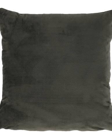 Vankúš zamatová látka tmavozelená 45x45 ALITA TYP 11