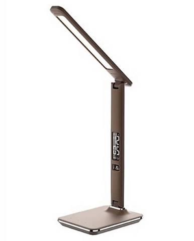 Stolná LED lampa hnedá WO45-H