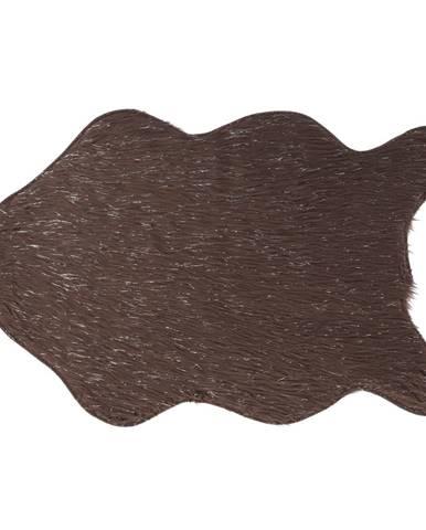 Umelá kožušina sivohnedá-taupe/strieborná 60x90 FOX TYP 4